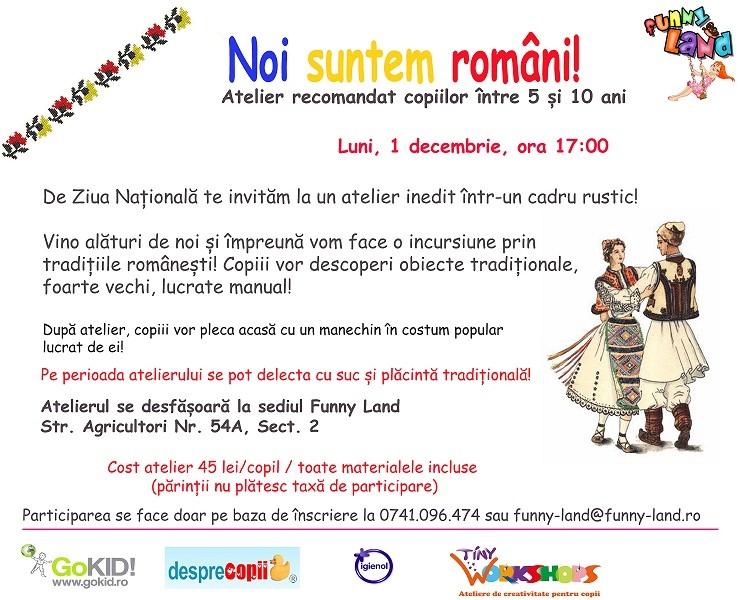 Atelier De Traditii Romanesti De Ziua Nationala A Romaniei