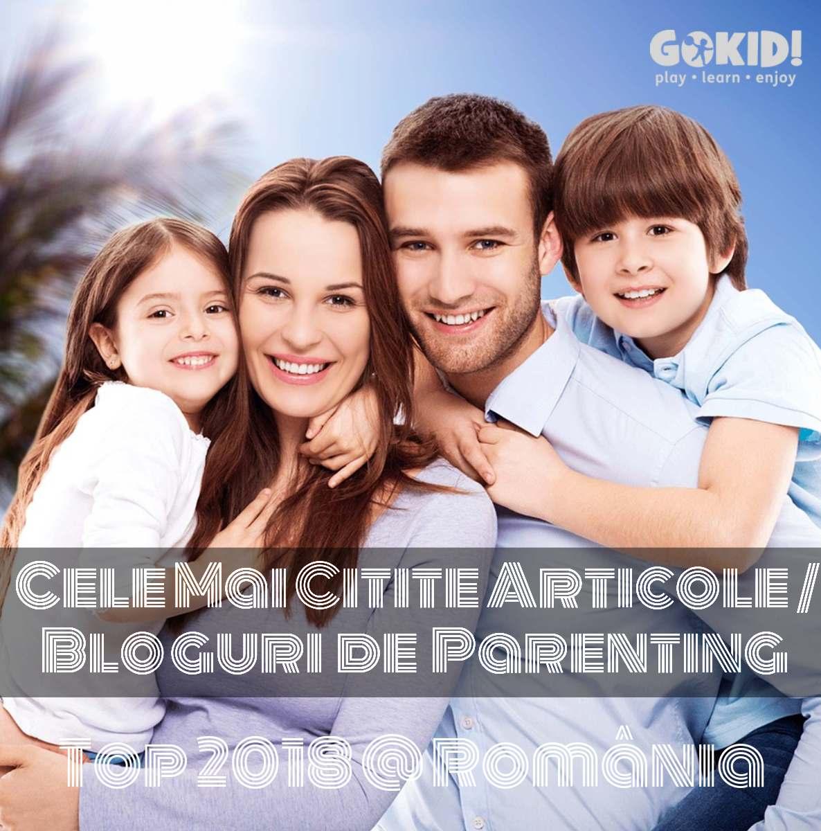 Articole pe Blogurile de Parenting Romania 2018 gokid