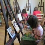 Cursuri pictura in aer liber Arta pentru copii