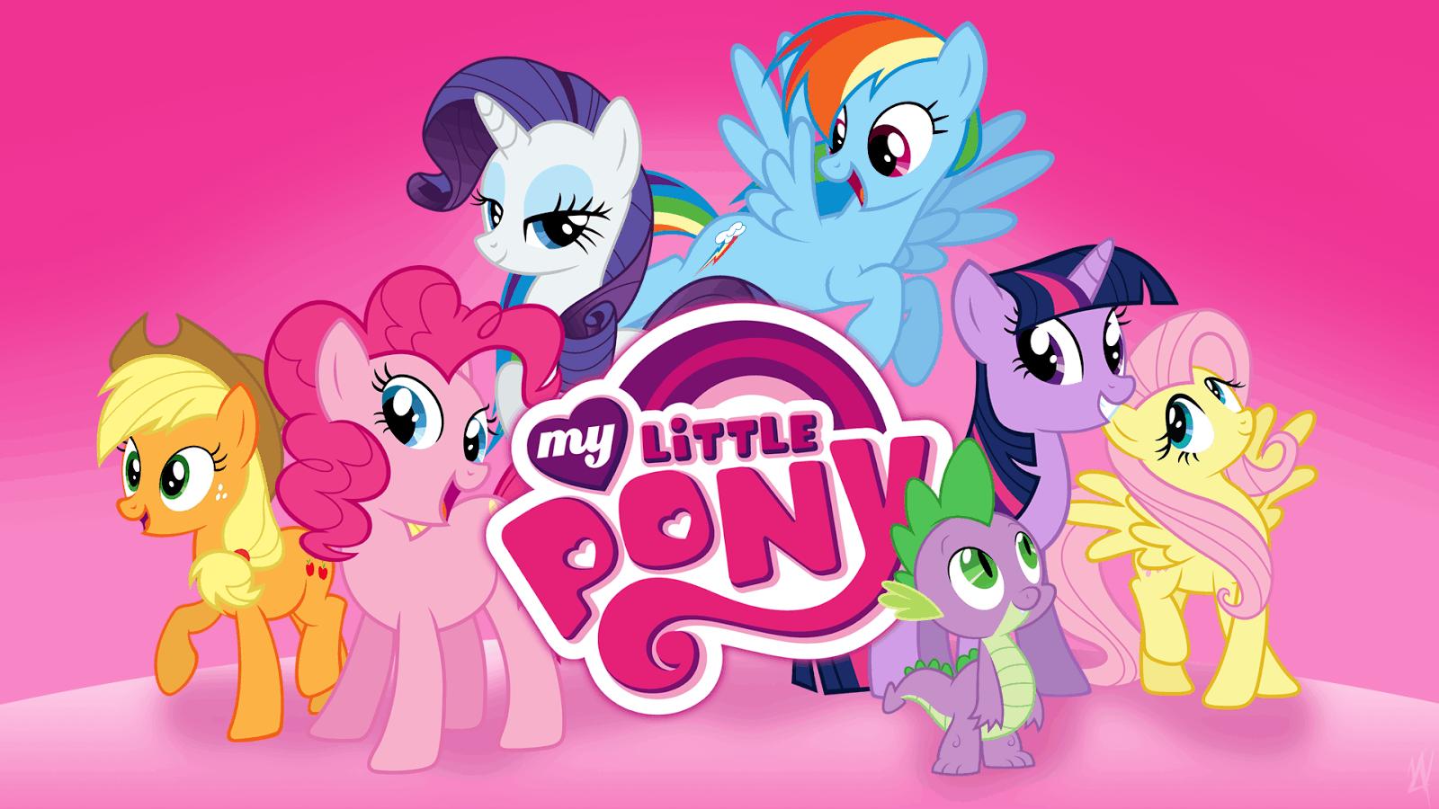 My Little Pony Desene Cu Ponei Pentru Fetite