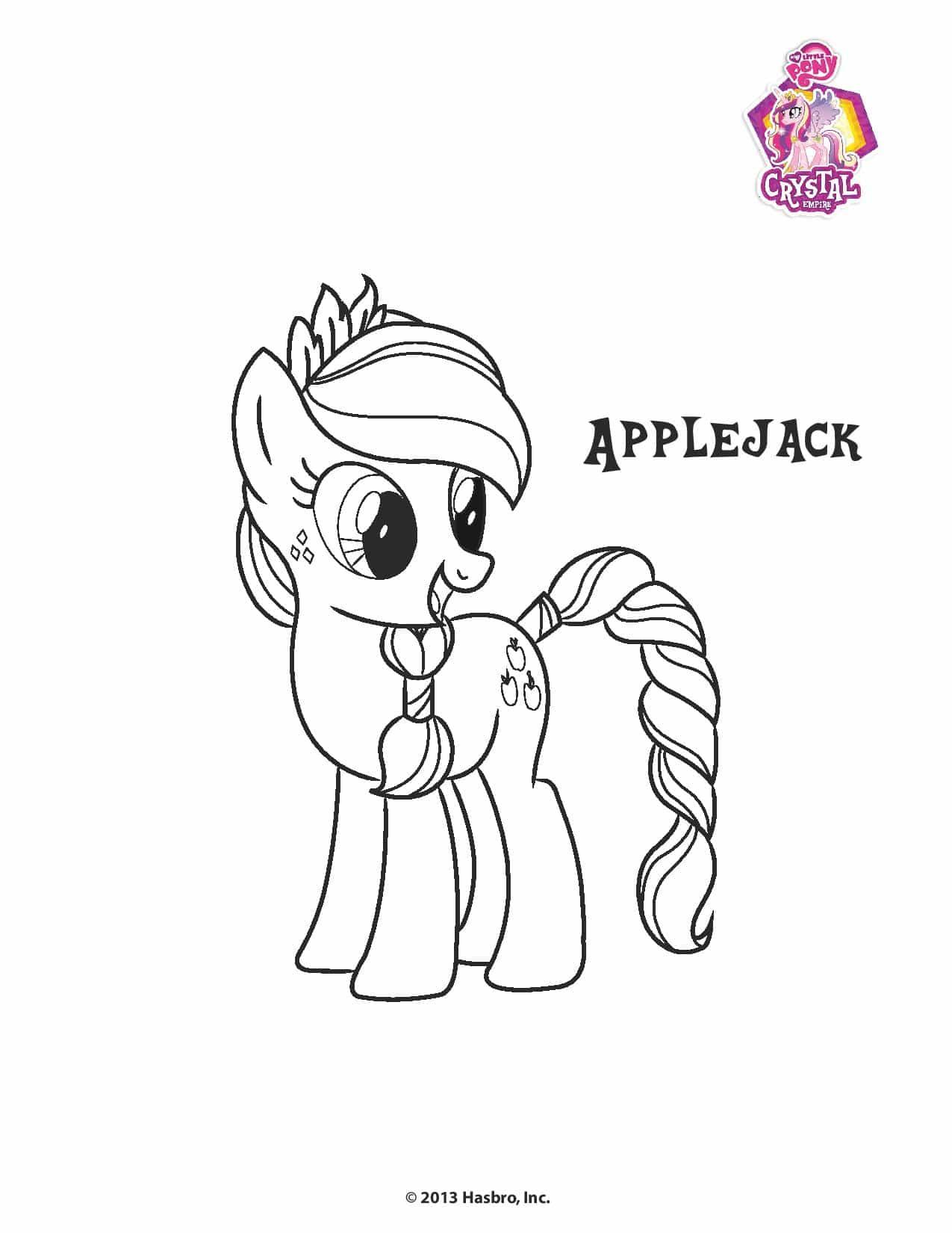 Planse De Colorat Cu Micii Ponei My Little Pony