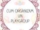 cum organizam un playgroup bebelusi