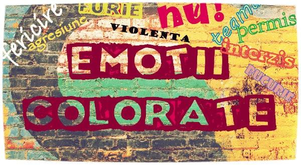 Emoţii Colorate Atelier Pentru Copii De 4 7 Ani Gokid