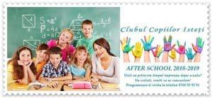 after-school 2018 Clubul Copiilor Isteti