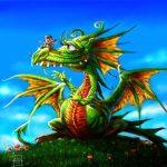 Povestea Dragonului Singuratic. Poveste Terapeutica de Alina Sirbu