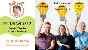 Branduri Creative, Proiecte Romanesti baby expo 2019