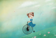 Ela si bicicleta poveste terapeutica fetita