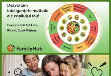 Family Hub. cursuri ateliere copii parinte copil colaj gokid