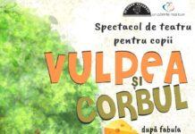 Vulpea si corbul Teatru Coquette Cluj-Napoca