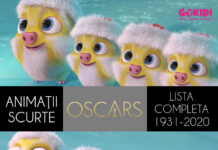 Animatii Scurte Premiate cu Oscar. Lista Completa