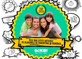Cele Mai Citite Articole pe Blogurile de Parenting Romania 2020